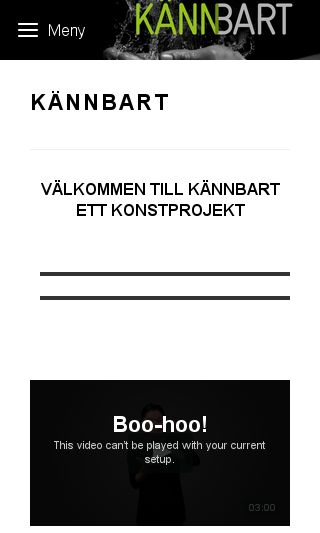 Mobile preview of kannbart.nu