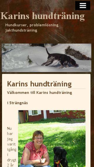 Mobile preview of karinshund.n.nu