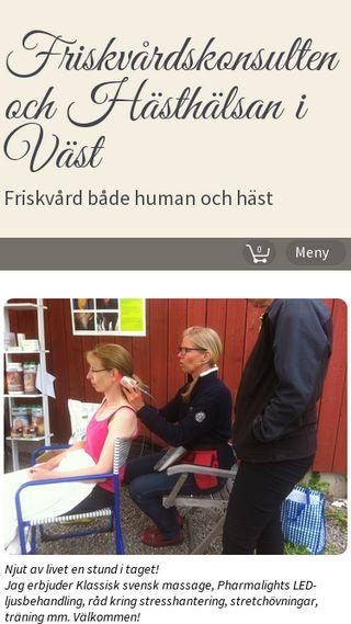 Mobile preview of karinward.se