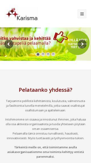Mobile preview of karismakonseptit.fi