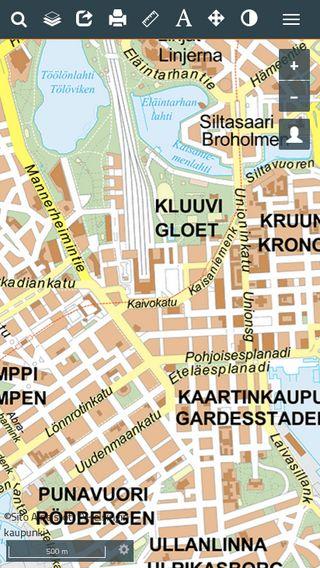 Mobile preview of kartta.hel.fi