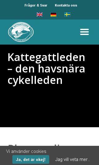 Mobile preview of visitkungsbacka.se