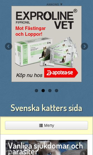 Mobile preview of katter.nu