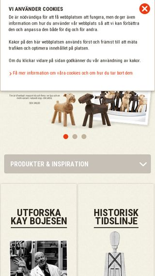 Mobile preview of kaybojesen-denmark.se