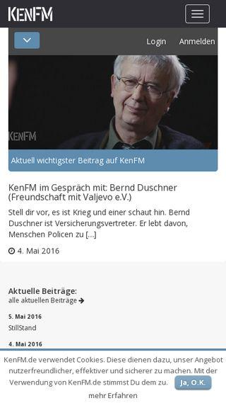 Mobile preview of kenfm.de