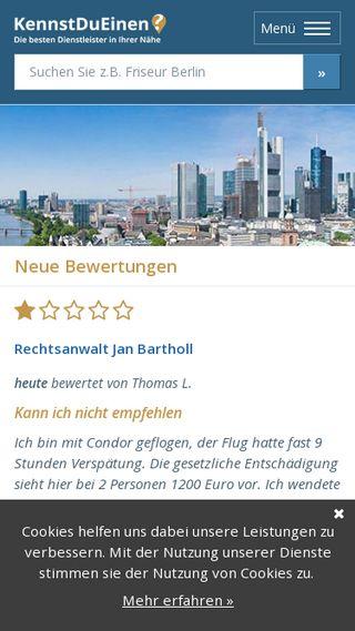 Mobile preview of kennstdueinen.de