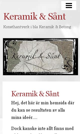 Mobile preview of keramikosant.se