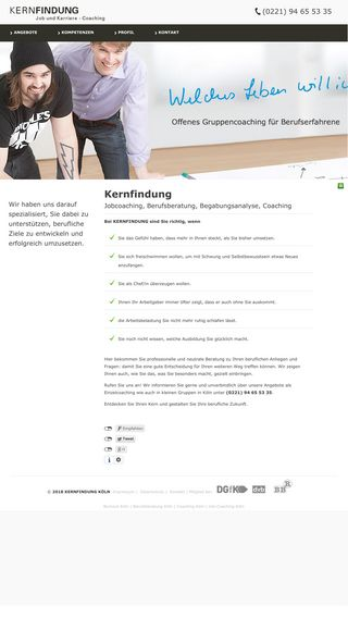 Mobile preview of kernfindung.de