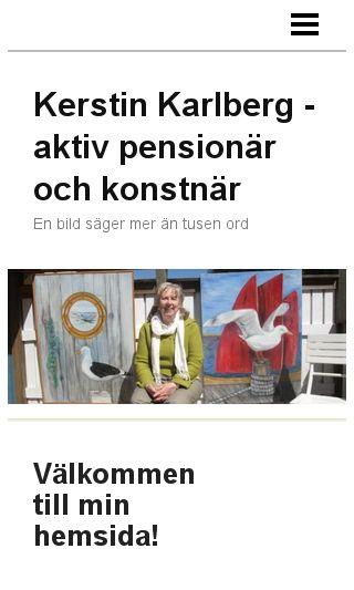 Mobile preview of kerstinkarlberg.se