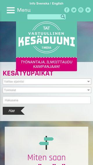Mobile preview of kesaduuni.org