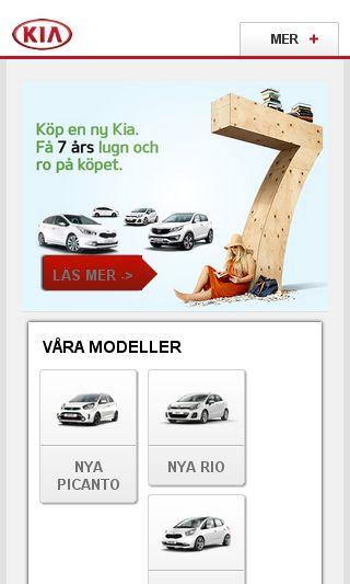Mobile preview of kia.se