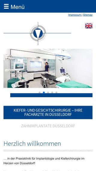 Mobile preview of kieferchirurgie.org