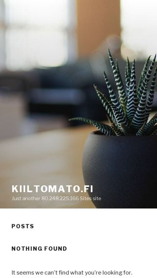 Mobile preview of kiiltomato.fi