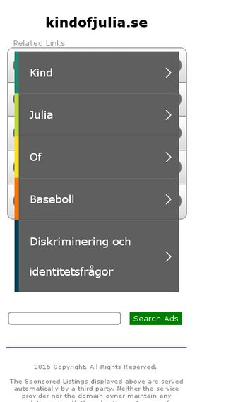 Mobile preview of kindofjulia.se