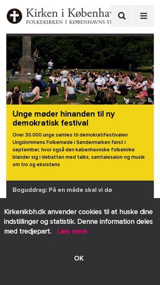 Mobile preview of kirkenikbh.dk