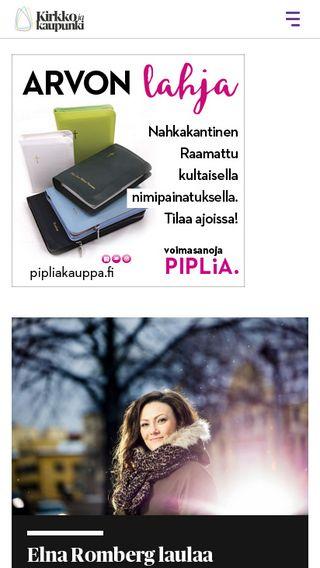 Mobile preview of kirkkojakaupunki.fi