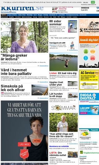 Mobile preview of kkuriren.se