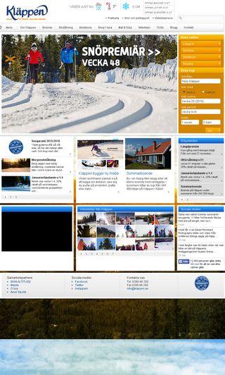Mobile preview of klappen.se