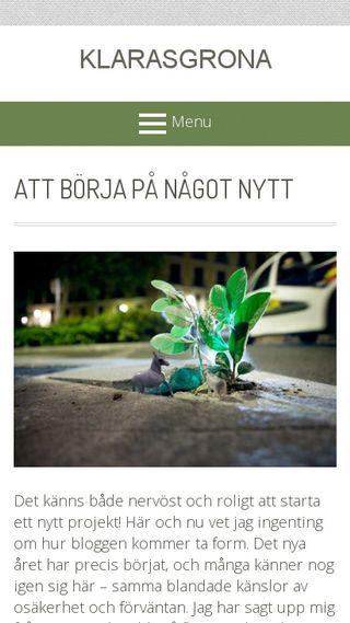 Mobile preview of klarasgrona.se