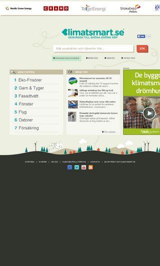 Mobile preview of klimatsmart.se
