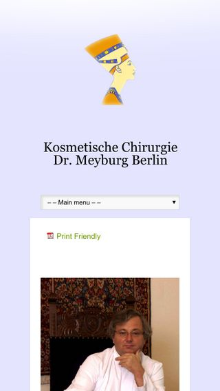 Mobile preview of klinik-dr-meyburg.de