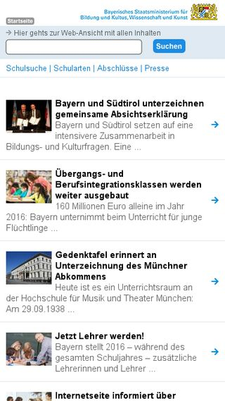 Mobile preview of km.bayern.de