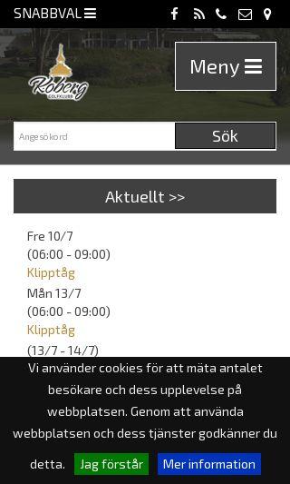 Mobile preview of koberggk.se