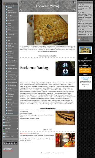 Mobile preview of kockarnasvardag.se