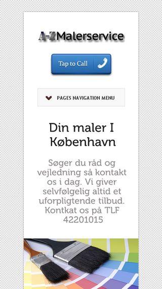 Mobile preview of koebenhavnmalerfirma.dk