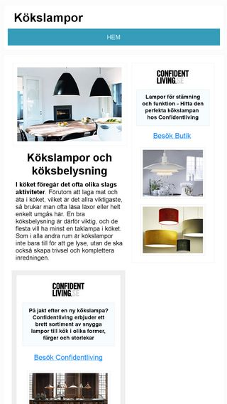 Mobile preview of kokslampa.nu