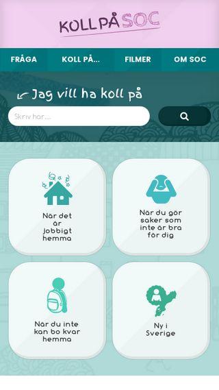 Mobile preview of kollpasoc.se