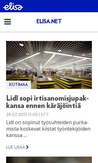 Mobile preview of kolumbus.fi