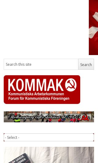 Mobile preview of kommak.org