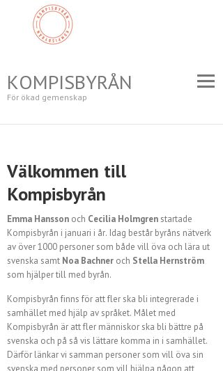 Mobile preview of kompisbyran.se