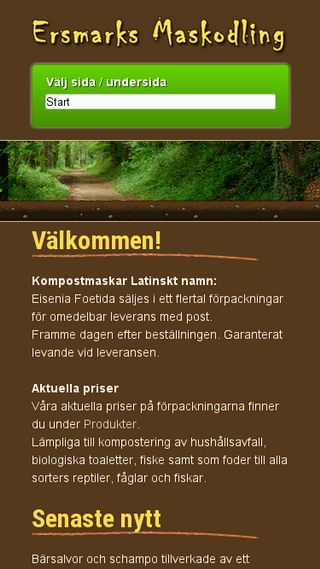 Mobile preview of kompostmaskar.se