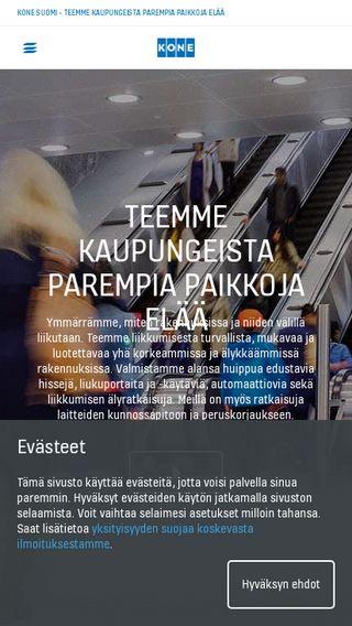 Mobile preview of kone.fi