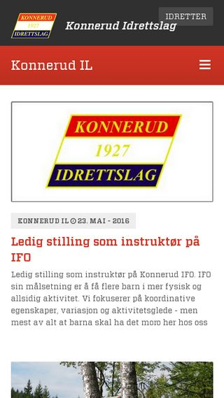 Mobile preview of konnerud.no
