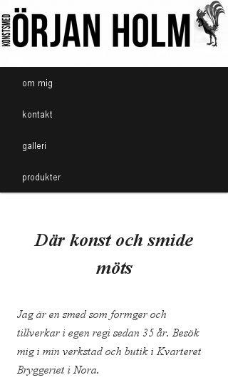Mobile preview of konstsmed.se