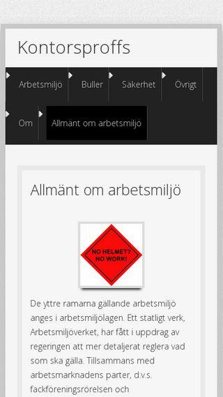 Mobile preview of kontorsproffs.nu