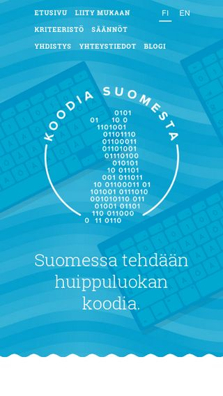 Mobile preview of koodiasuomesta.fi