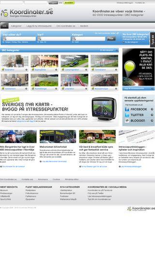 Mobile preview of koordinater.se