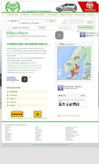 Mobile preview of korkortsverige.se
