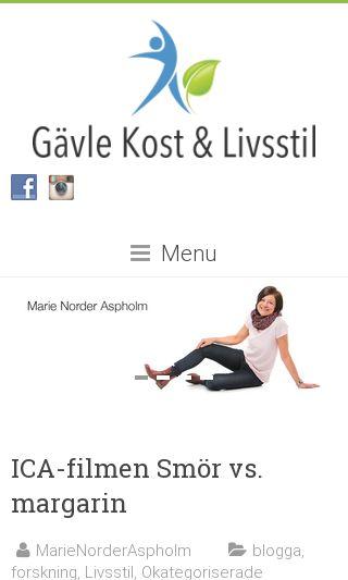 Mobile preview of kostochlivsstil.se