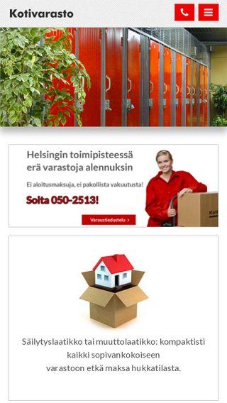 Mobile preview of kotivarasto.fi