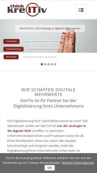 Mobile preview of kreitiv.de