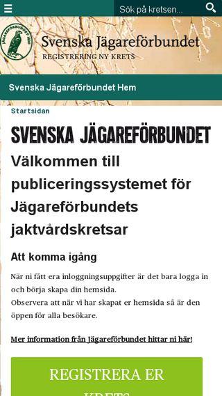 Mobile preview of krets.jagareforbundet.se