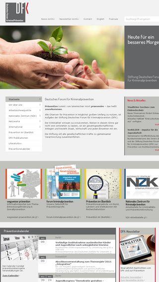Mobile preview of kriminalpraevention.de