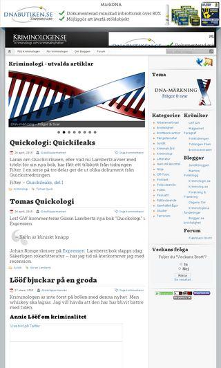 Mobile preview of kriminologen.se