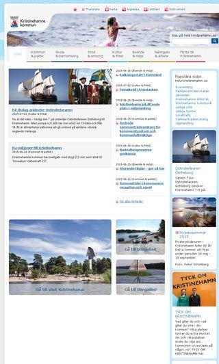 Mobile preview of kristinehamn.se