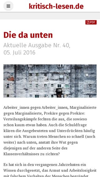 Mobile preview of kritisch-lesen.de